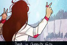 gravity falls but older