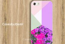 iPhone Cases - Floral-Abstract / iPhone and Samsung Galaxy Cases