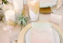 Tables, flatware, glassware oh my!