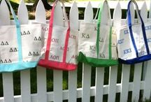 Sorority Sisters / Sorority Beach Bags, Greek Life, Beach
