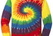 Tie-Dye / If you like tie-dye, you will love these shirts and sweatshirts!