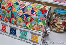 Quilting - QST, Hourglass, Quarter-Square Triangle Quilts