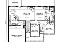 House Plans  / by Sherry Dibble