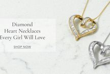 You'll Fall Utterly in Love with These Beautiful Diamond Heart Necklaces!