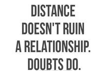 its all about distance