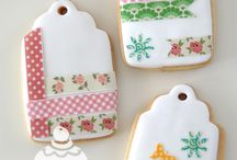 Decorated cookies / Cookies decorated with icing. I love doing it!!