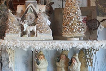 Antique Christmas Decor & Display / Antique Christmas Decor & Display
