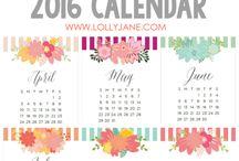Planner / adesivi, sfondi, immagini varie per agenda