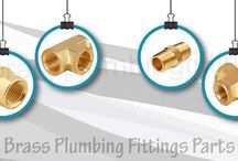 Brass Plumbing Fittings Parts
