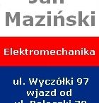 Elektromechanika Jan Maziński ul Wyczółki 97 / Elektromechanika Jan Maziński ul Wyczółki 97 - wjazd od Poleczki 72