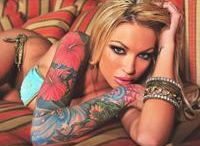 body painting et tatouage