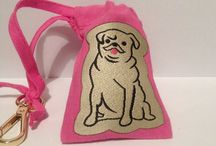 Pooch pouches / Pooch pouches handmade pouches to carry poo bags or treats these stylish bags clip onto your dogs lead