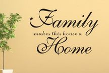 Family Quotes And Sayings Home