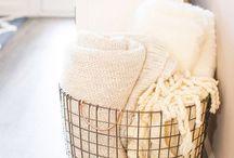 baskets at home