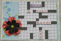 crossword birthday card