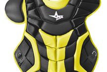 All-Star Professional Chest Protector / All-Star Professional Chest Protector - Size: 16 1/2 inches www.sportsdepot.com