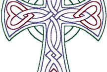 Celtic crosses