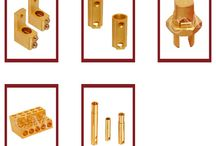 Brass Electrical Components / Owing to the expertise of our experienced professionals, we have been engaged in providing Brass Electrical Components. These electrical components are manufactured under the supervision of highly experienced professionals using the best quality brass and high-end technology. We provide these components at reasonable prices to the clients.