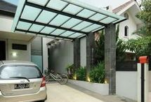 Cantelever carport and patios