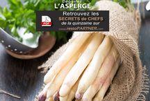 Quinzaine Gourmande de l'asperge 2015 / Découvrez toutes les photos de recettes élaborées spécialement par nos chef !