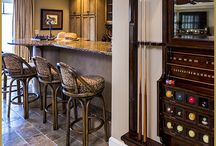 Bar / Game Room Designs / Designing a bar area and or game room can be so much fun. Check out our latest rooms for inspiration.