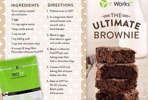 It Works Profit Recipe / All-natural protein powder / by Jennifer Scherer O'Hara