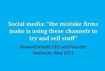 Social media quotes  / Quotes over social media