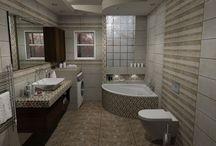 Collection Central. Κλασσική συνταγή / Σχέδια μπάνιου σε μονοκατοικία στην Βέροια.