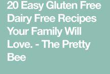Gluten / Dairy Free Recipes