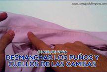 DESMANCHAR PUÑOS Y CUELLOS DE LAS CAMISAS / Existen 11 maneras de evitar las molestas manchas de los cuellos de las camisas producidas normalmente por la contaminación y el sudor, aprende aquí como hacerlo.