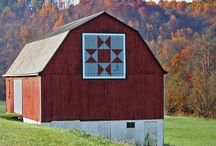 Barns...Quilts / Love Quilts, love old Barns, love quilts painted on Barns