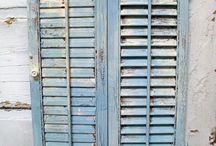 Inspirations - shutters/doors
