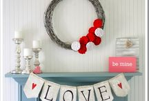 decorate: valentines and Easter
