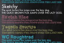 Fonts / by Heather Ricarte
