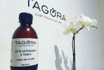 Linea Cosmetica Naturale Tagora / La Linea di prodotti di cosmesi TAGORA vede nella Natura l'origine della sua filosofia di produzione. È partendo dalla Natura che realizziamo tutti i nostri prodotti: rispettandola ci prendiamo cura di Essa e utilizzandola in maniera consapevole ci prendiamo cura di Noi Stessi.