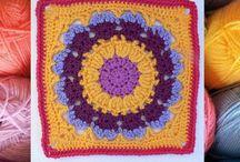 30cm crochet squares