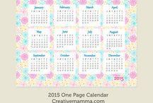 Calendar / Calendrier