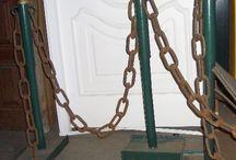 CADENAS / Eslabones resistentes, CADENAS todas en CARRARA http://www.carrarademoliciones.com.uy/ 22 03 52 17 / 22 00 68 11