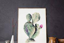 Cactus designs