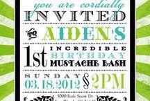 Birthday invites