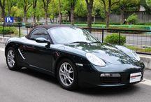 Porsche Boxster ( type 987 ) / 年式 2006 シフト 5速 ハンドル R 初度登録 平成17年11月 排気量 2,700cc 走行距離 58,000Km 車検期限 検2年付 ミッション Tip-S 修復歴 認定中古車保証1年間 カラー(外装) フォレストグリーンメタリック カラー(内装) ココアブラウン・レザーインテリア  装備オプション シートヒーター バイキセノンヘッドライト ウィンドディフレクター ETC