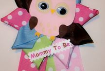 Owl baby shower for a girl / by Manda Nell Caton