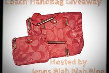 Coach Handbag Giveaway, love! / by Ria Alemina Ginting
