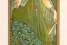 Art Nouveau Women Paintings