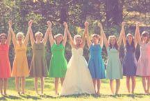 The Wedding Party JD Entertainment / #jdentertainment.net #michiganwedding #bridesmaids #weddingideas #weddingparty
