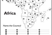 Maantieto Afrikka