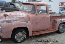 1956 Ford F100 Restoration / This an on going restoration of my 1956 Ford truck which I have owned for 24yrs.