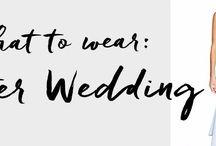 What to Wear: Winter Wedding / www.shoptiques.com/look-books/what-to-wear-winter-wedding