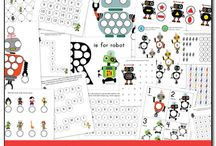 Free Printables / A resource for finding free educational printables and worksheets for kids of various ages, from toddlers and preschoolers to kindergartners and elementary students.  / by Katie @ Gift of Curiosity