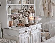 Shabby kitchen cupboard
